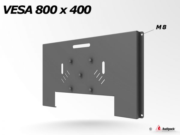 Audipack Vesa 800x400(M8)L&S5 flat panel bracket(392561)