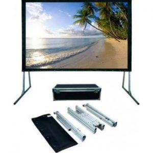 """Iview 400x300cms Fast Fold Projection Screen and Rear Screen (200"""" Diagonal)"""