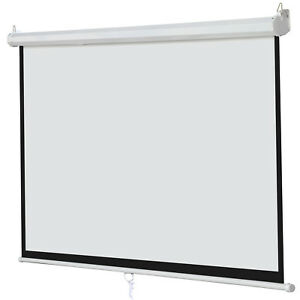 Iview Manual Screen 240x240cms Wall Mount